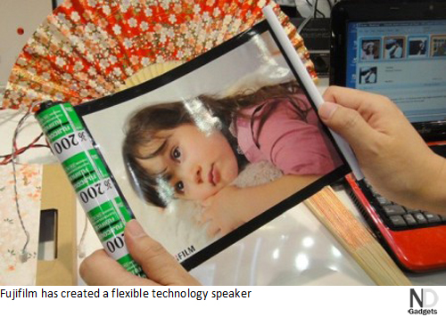 Fujifilm-flexible-technology-speaker