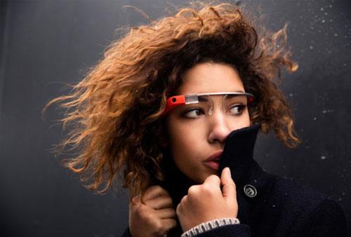 Google design of Glass