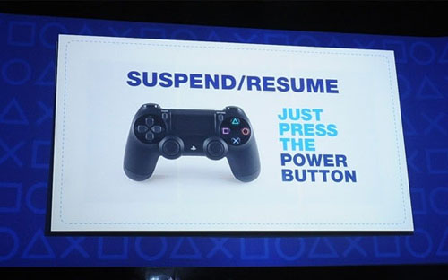 PS 4 will have instant start and a strong social orientation