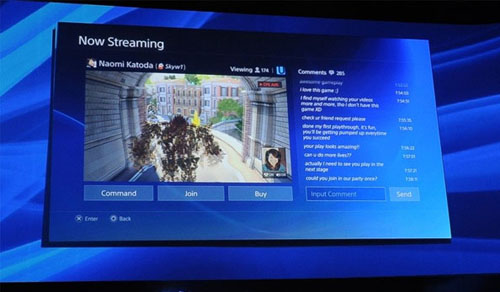 PlayStation 4 share friends