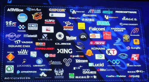 Sony put names to companies who support your PlayStation 4