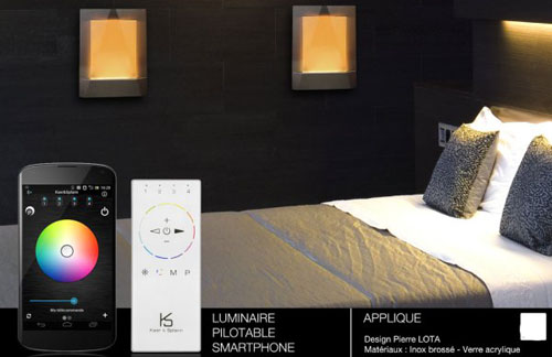control lighting LED in Bluetooth