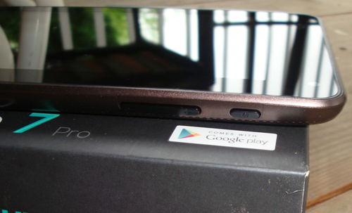The tablet Hisense Sero 7 ProNexus 7 $ 150
