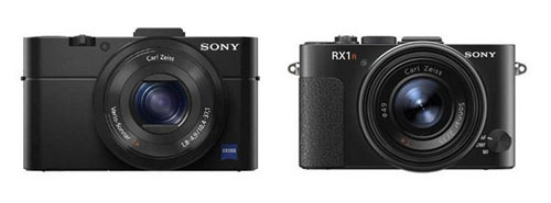 Sony RX1R and RX100 II