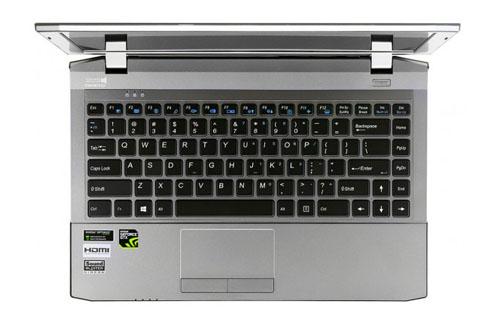 Notebook Digital Storm -Keyboard
