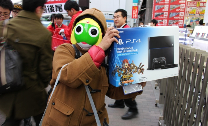 SONY PLAYSTATION 4 debuted
