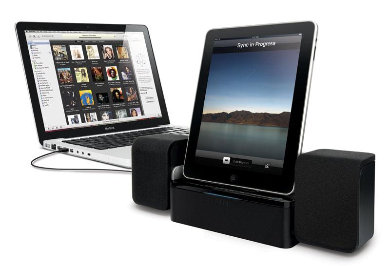 iLuv iMM747 Audio Cube
